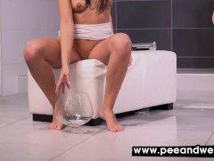Peeing girls and piss porn at peeandwet 11