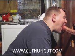 Super Hung Fat Cock In The Gloryhole