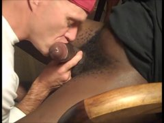 Sucking Huge Jamaican And Swallow