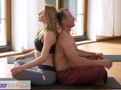 FitnessRooms Dirty yoga teacher on gorgeous
