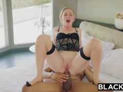 BLACKED Wife cuckolds hubby with blac...