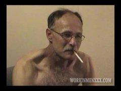 Homemade Video of Mature Amateur Steve Jacking Off