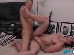 Muscular stud Franc gets his ass fucked