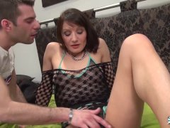 La Cochonne - Naughty mature French amateur enjoys ass fisting and hardcore