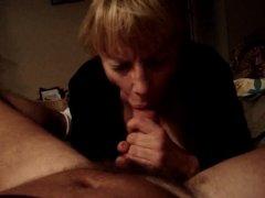 janet swallowin' her sons cock n semen
