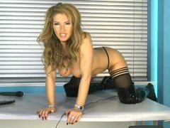 Lynda on show