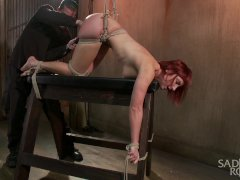 The Pope brutally Tortures newcomer, Sophia L
