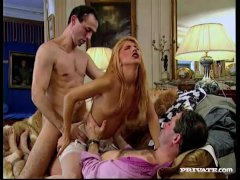 Dina Pearl Gets a DP in a Threesome