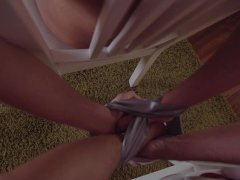 Los Consoladores - Cuckold FFM threesome with Asian babe and Hungarian wife