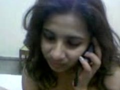 desi college girl nude talking on phone