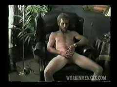 Homemade Video of Mature Amateur Randy Jacking Off