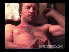 Homemade Video of Mature Amateur Jacob Jacking Off