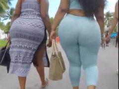 Fat Big Butt In a Dress And Pants Suplex