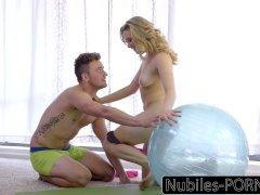Nubiles-Porn Mia Malkovas Yoga Fuck - FULL VIDEO
