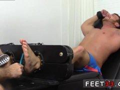 Gay male foot slaves Wrestler Frey Finally