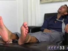 Sexy gay feet movies Jake Torres Gets Foot