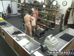 Hot straight gay man showing big bulge