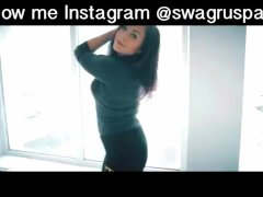 @swagruspanda sexy twerking and shaking ass with beautiful teen girls
