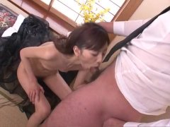 Deep penetration pussy sex with hot Kanon Han
