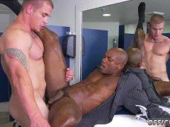 Straight men cock flashing gay The HR