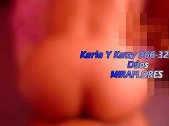 Karla Y Katty 966-322-363 Dúos MIRAFLORES ANGAMOS LIMA PERU ORAL ANAL