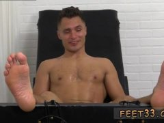 Gay twink foot needle  and nude male hairy