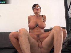 Busty Lisa Ann hardcore fuck with Steve Holmes