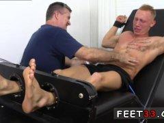 Sucking feet armpit gay Cristian talked