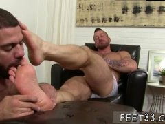 Hunks hunky legs and gay feet worship