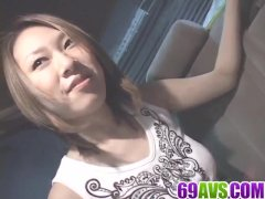 Jyuri Serizawa loves stroking cock in the car