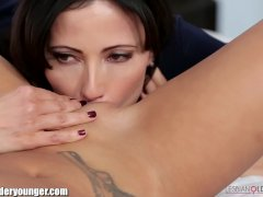 Alina Li Caught Masturbating by Stepmom