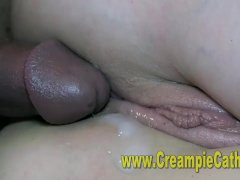 Sloppy Interracial Creampies