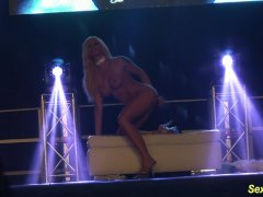 flexible stepmom naked on stage