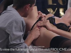 FROLICME - Beautiful stepmom fantasises over fucking her stepson