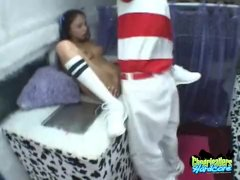 Cheeleader Alexis Fucked By The Ice Cream Man