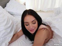 Aria Rose Satisfies her Monster of Cock Craving (mc14836)