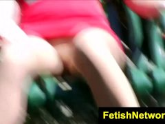 FetishNetwork Harmony Coxxx nylon voyeur