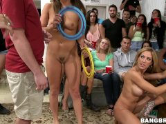 Dorm sex party with Capri Cavalli, Jamie