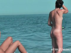 Nudist beach with horny naked women great looking naked babes