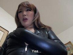 Subtitles Japanese Ai Mizushima full body worship