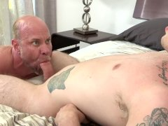 Stepdad Punishes Son with Big Cock