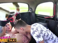 Female Fake Taxi Busty blonde fucked and