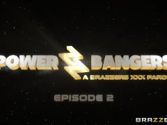 Brazzers - Power Bangers: A XXX Parody Part 2