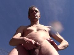 PISS OUTDOOR IN PUBLIC, AMATEUR SOLO MALE