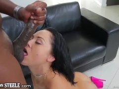 Kristina Rose Opens Ass for Lex Steeles HUGE Cock