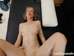 Horny 48yr old MILF fucks black rap casting agent
