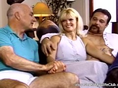 Horny Housewife Fucks Total Stranger