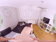 VIRTUAL TABOO - Small Amber Fucked by Stepbrother While Parents Are Away