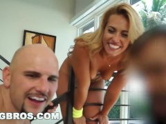 BANGBROS - Behind-the-Scenes Kelsi Monroe on set with J-Mac for Ass Parade