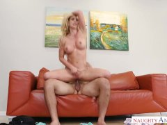 Friends mom Cherie DeVille gets Creampie